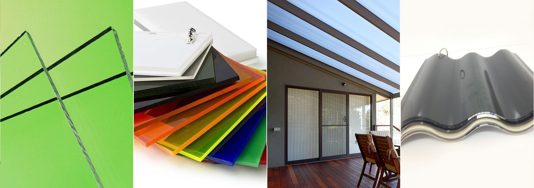 Perspex sheets and Aluminium Composite sheets